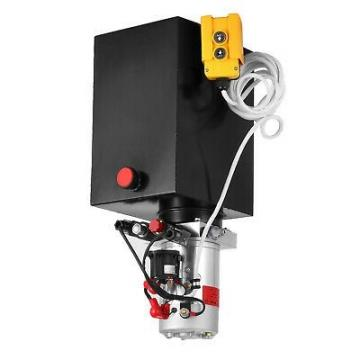 3215S unità di potenza idraulica, Pompa idraulica, semplice effetto 12V 15Qt, Rimorchio ribaltabile
