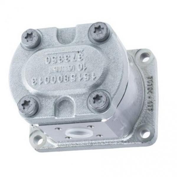 Rexroth Idraulico Pala Pompa , PV7-20/20-20RA01MA0-10, W/2.2 Kw 220 / 480V, Used #3 image