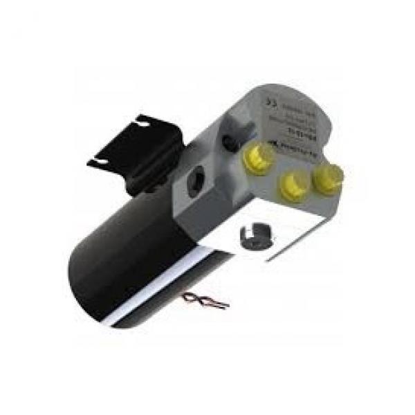 Doppio effetto pompa idraulica 12v Dump Trailer 10 Quart metallo Serbatoio #1 image